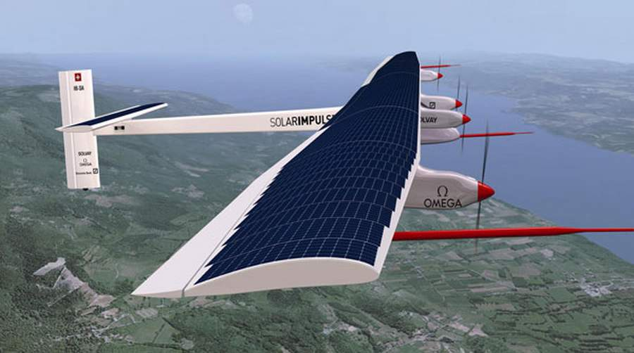 Solar Powered Plane Travels Around The World - The Trustico® Blog